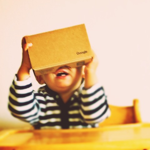 Virtual Reality 仮想現実 Google Cardboard